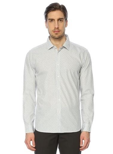 Desenli Uzun Kollu Gömlek-Altea